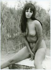 VMG68C Vintage Erotic Nude Art Publisher ERIC BACH Photo 7x9 DONJA LEBA Gala Vue