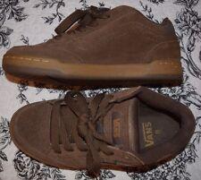 Mens Size 8 VANS VARIAL Brown Suede Skate Board Shoes  NICE!!