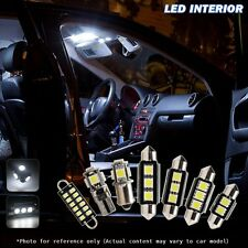 10 pcs Error Free White car Interior LED bulbs Package Kit for BMW 3 Series M3