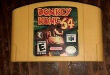 DONKEY KONG 64 (Nintendo 64 N64, 1999) Game Cartridge - Free Ship!
