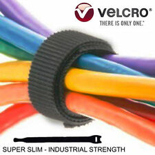 "Velcro Brand Cable Ties Cord Organizer Reusable Straps Reusable 6pcs 8"" x 1/2"""