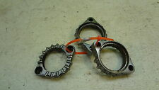 1979 Yamaha XS750 XS 750 850 Y318. exhaust header clamps flanges