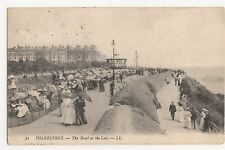 Kent, Folkestone, The Band On The Leas, LL Postcard, A828