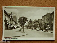 R&L Postcard: Buckeburg, Langestrabe, Kaisers Cafe Kaffee Germany 1930s/40s