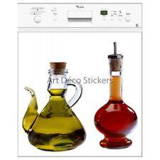 Magnet lave vaisselle déco huile et vinaigre  60x60cm réf 053 053