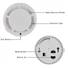 Multifunctional Carbon Monoxide CO & Smoke Detector Smoke Alarm Battery Operated