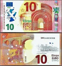Scotland - €10 Political Banknotes to show opposition to Brexit. Not Real. UNC