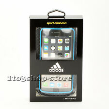 Adidas Sport Armband Case for iPhone 7 Plus iPhone 6s Plus (Blue/Black)