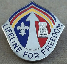 US Army Theater Support Command Europe Unit Crest Insignia