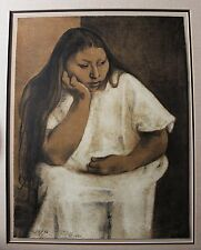 Signed Limited Edition Lithograph by Francisco Zuniga (1912-1998) Dated 1980
