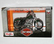 Maisto-Harley Davidson 2012 XL 1200V de setenta y dos Escala Modelo 1:18