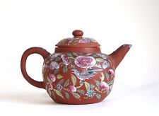 Fine antique 19th century Chinese yixing teapot - mark to base