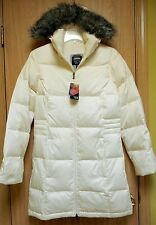 NEW $300 Mountain Hardwear Downtown Long Down Parka Jacket Womens S Winter White