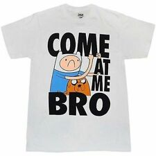 Adventure Time With Finn & Jake Come At Me Bro Cartoon Network T Tee Shirt S
