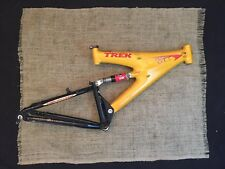 Trek Y11 OCLV Carbon Full Suspension Mountain Bike Frame Yellow USA