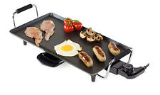 Teppan yaki Electric Kitchen Grill Pan Tray Griddle Barbecue BBQ Garden Large