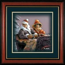 Winter Wonderland Sleigh Ride By Terry Redlin Framed Companion Print