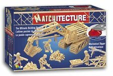 Matchitecture 6641 Mechanical Digger with Microbeam Cutter Matchstick Kit