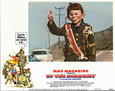 ALFRED E. NEUMAN orig 1980 lobby card movie poster UP THE ACADEMY/MAD MAGAZINE