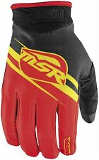 MSR 2015 Max Air Motocross Gloves Yellow/Red size Adult Small