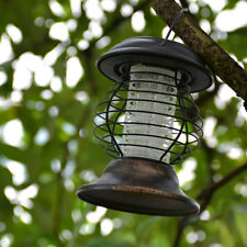 Led Solar Garden Bug Zapper Mosquito Killer Lamp UV Lantern Yard Camping Light