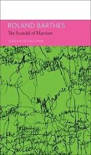 The French List: The Scandal of Marxism by Roland Barthes (2015, Hardcover)