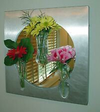 Window Vases - 1 Mini Single-1 Mini Oval-1 Mini Bulb-Attach to windows 99110