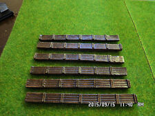 n gauge sleeper embankments x6 train set layout railway scenery fully painted