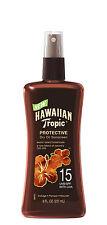 HAWAIIAN Tropic Tanning Oil Pump Spray SPF 15, 8 Fluid Ounce