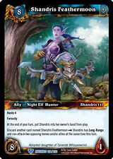 WOW WARCRAFT TCG WAR OF THE ANCIENTS : SHANDRIS FEATHERMOON X 3