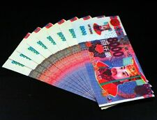 Hell Bank Note Chinese FENG SHUI Money 10 pc China Ghost Currency 8000s #HBN16