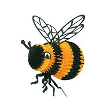 Tissue Bee Spring Summer Bumblebee Hanging Decor Bee Party