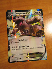 NM Pokemon KANGASKHAN EX Card FLASHFIRE Set 78/106 XY X and Y Ultra Rare 180 HP