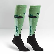 Sock It To Me Women's Funky Knee High Socks - I Believe