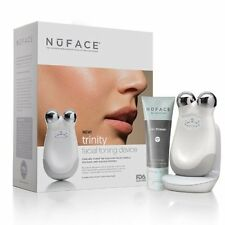 WHITE- NUFACE Trinity Facial Toning Device (NEW SEALED IN BOX)