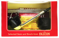 FALCON PIPE Set  + Extra Bowl - STRAIGHT - unsmoked (Y-112)