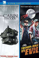 THE CABIN IN THE WOODS/TUCKER & DALE (NEW DVD)