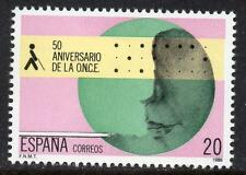 SPAIN MNH 1988 SG2998 50th Anniv of the National Organization for the Blind