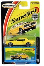 2004 Matchbox Superfast #39 1968 Mercury Cougar