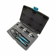 Mountain Quick Change Ratcheting Crimper Kit, Electrical Crimp Tool #C48
