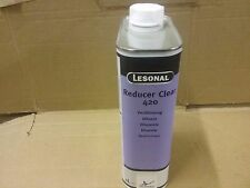 Lesonal Reducer Clear 420  1 litre    2K Lacquer Thinner  AKZO  Solvent