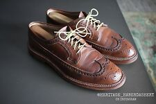 Alden for Epaulet #97871 Natural Chromexcel Longwing 9 B/D $575 Brogue Wingtip