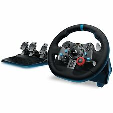 LOGITECH G29 driving force racing wheel et pédales.