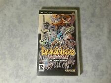 DARKSTALKERS CHRONICLES THE CHAOS TOWER SONY PSP ITALIANO COME NUOVO ULES 00016