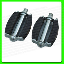 A Pair of Classic Cycle Pedal [ CPT5136034 ] Retro Rubber Pedals with Reflective