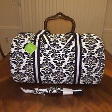 NWT Vera Bradley Round Duffel Travel Bag in Fanfare
