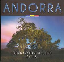 (AKS1) ANDORRA | ANDORRE 1 CENT - 2 EURO KMS 2015 BU | ST AUSGABE AM 18.07.2016