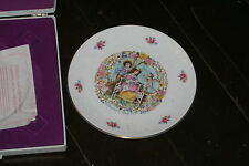 """1977  Royal Doulton Valentine's Day 8 .5"""" Collectors Plate My Valentine, In Box"""