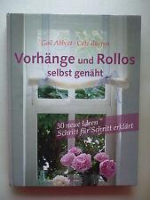 Vorhänge und Rollos selbst genäht 2005 Nähen Inneneinrichtung