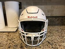 Riddell Revo Revolution SPEED FLEX Football Helmet White Facemask Youth Medium